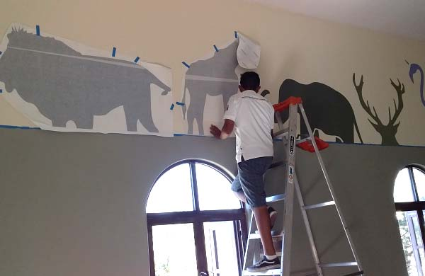 Wall vinyl graphics